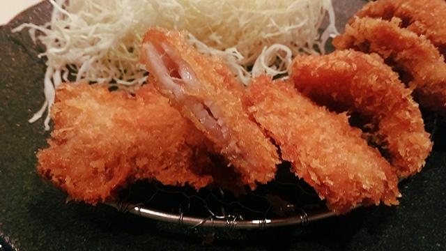 芋豚ヘレカツ定食