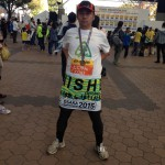 ジャニーズと並走できた大阪マラソン
