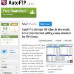 高機能マルチautoFTP Client フリー版