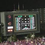 セレッソ対京都サンガの試合を今年初観戦