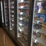 ライフのアイスが縦型冷蔵庫