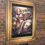 北梅田高架下美術館という美術館の専門学校生さんの絵画
