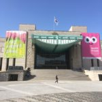 ソウルの戦争記念館で戦争の惨劇を