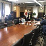 和歌山県知事の仁坂さんと市長の真砂さん