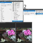 同じファイルを2画面で表示する