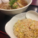 兎我野町 中華料理 天祥さんの750円半ちゃんラーメン