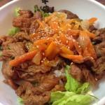 焼肉米牛さんの焼肉カルビ丼500円