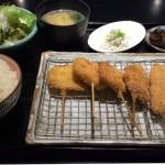 五菜(ごさい)さんの串かつ定食