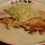 山なか製麺所さん Wスープの鶏豚白湯ラーメン