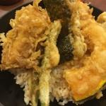 大阪 ホワイティの天丼あさひさん