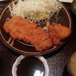 味見屋さんの絶品豚ランチ「芋豚ロース&ヘレ定食」