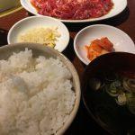 焼肉 犀 (サイ)さんの焼肉ランチはご飯とキムチはおかわり自由