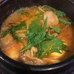 韓式焼肉・もつ鍋の店 天神橋韓喰さんのスンドゥプチゲ