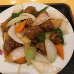 老松通りの中国料理 長城 (ちょうじょう)さんのランチ