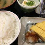 三井住友銀行さん裏の街かど屋さん卵焼き朝食