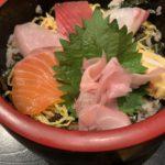 天満橋にある居酒屋和食「なかの家OAP店」さんのちらし寿司定食