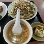 豊崎の北京料理吉祥楼さんの600円野菜炒めランチ